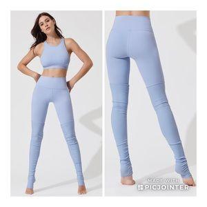 Alo Yoga Goddess High Waist UV Blue M Legging